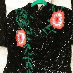 Gianni Bini Dresses - 💥SEXY Gianni Bini Tallulah Embroidered Sequin